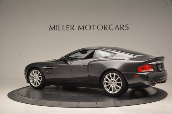 Used 2005 Aston Martin V12 Vanquish S for sale Sold at Pagani of Greenwich in Greenwich CT 06830 4
