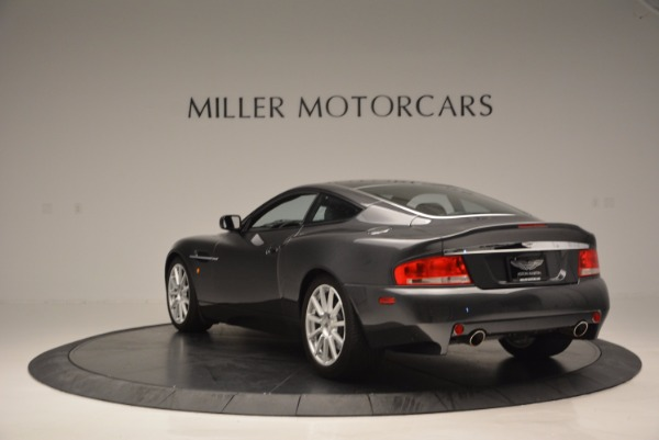 Used 2005 Aston Martin V12 Vanquish S for sale Sold at Pagani of Greenwich in Greenwich CT 06830 5