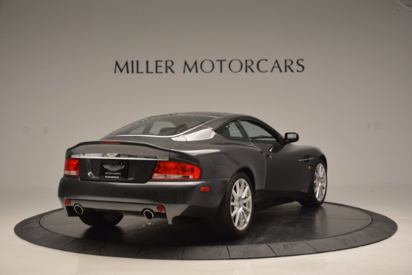 Used 2005 Aston Martin V12 Vanquish S for sale Sold at Pagani of Greenwich in Greenwich CT 06830 7