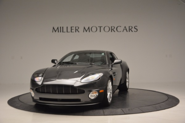 Used 2005 Aston Martin V12 Vanquish S for sale Sold at Pagani of Greenwich in Greenwich CT 06830 1