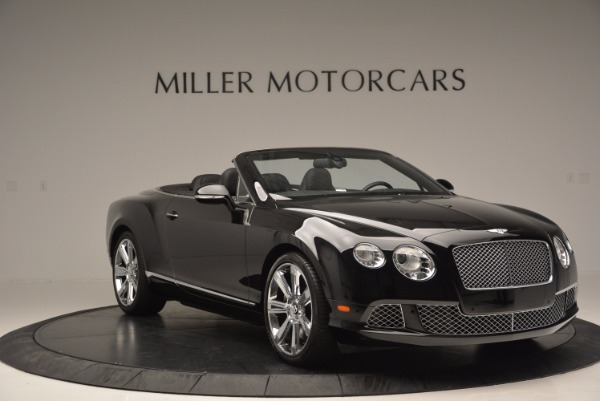 Used 2013 Bentley Continental GTC for sale Sold at Pagani of Greenwich in Greenwich CT 06830 12