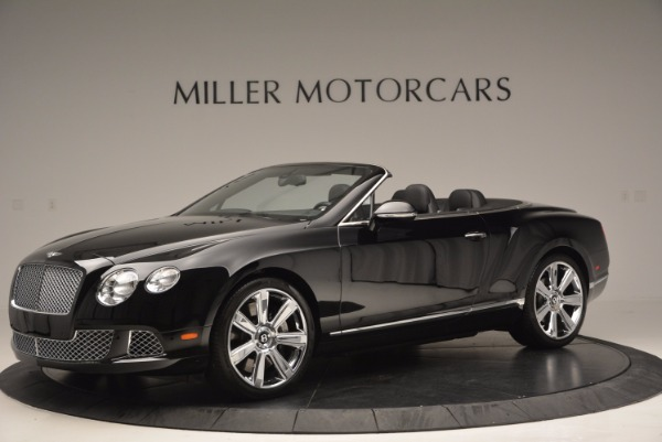 Used 2013 Bentley Continental GTC for sale Sold at Pagani of Greenwich in Greenwich CT 06830 2