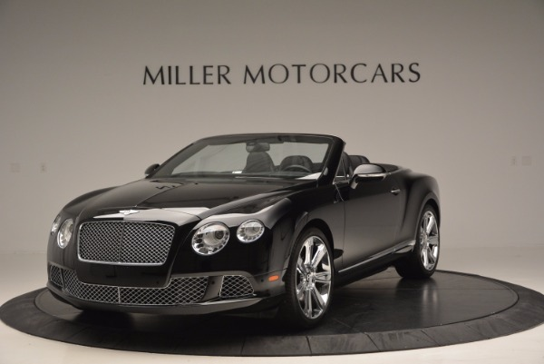 Used 2013 Bentley Continental GTC for sale Sold at Pagani of Greenwich in Greenwich CT 06830 1