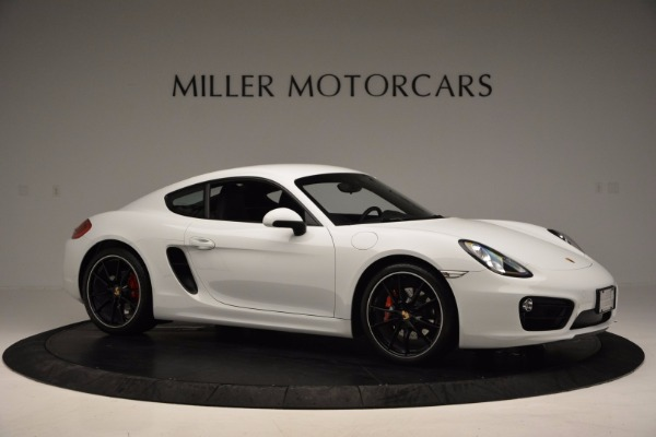 Used 2014 Porsche Cayman S for sale Sold at Pagani of Greenwich in Greenwich CT 06830 10