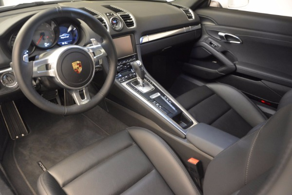 Used 2014 Porsche Cayman S for sale Sold at Pagani of Greenwich in Greenwich CT 06830 13
