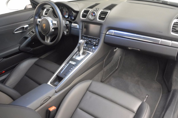 Used 2014 Porsche Cayman S for sale Sold at Pagani of Greenwich in Greenwich CT 06830 16