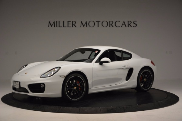 Used 2014 Porsche Cayman S for sale Sold at Pagani of Greenwich in Greenwich CT 06830 2