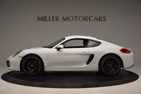 Used 2014 Porsche Cayman S for sale Sold at Pagani of Greenwich in Greenwich CT 06830 3