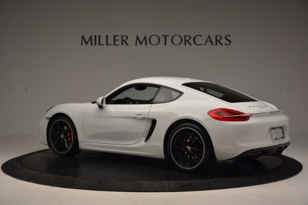 Used 2014 Porsche Cayman S for sale Sold at Pagani of Greenwich in Greenwich CT 06830 4