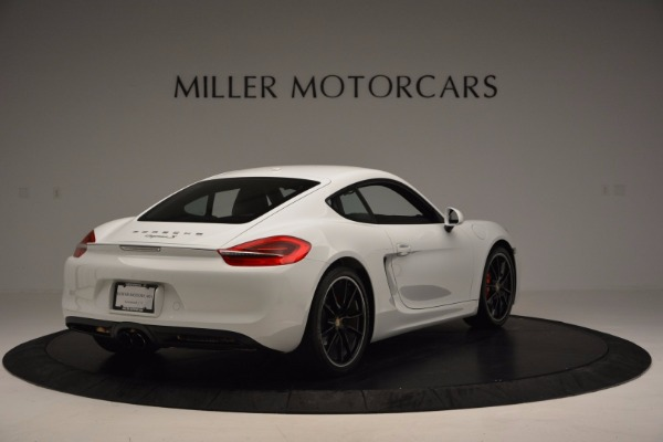 Used 2014 Porsche Cayman S for sale Sold at Pagani of Greenwich in Greenwich CT 06830 7