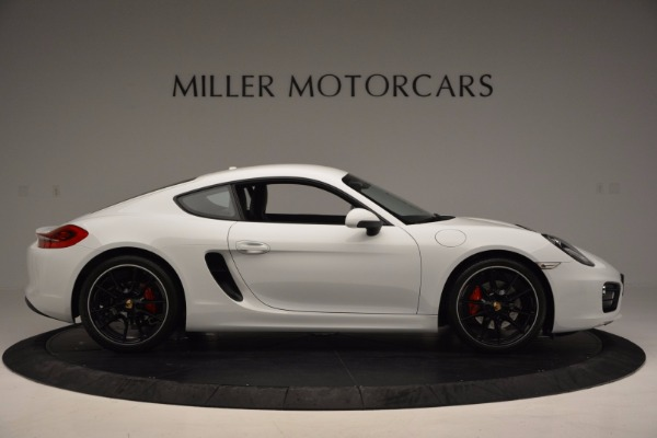 Used 2014 Porsche Cayman S for sale Sold at Pagani of Greenwich in Greenwich CT 06830 9