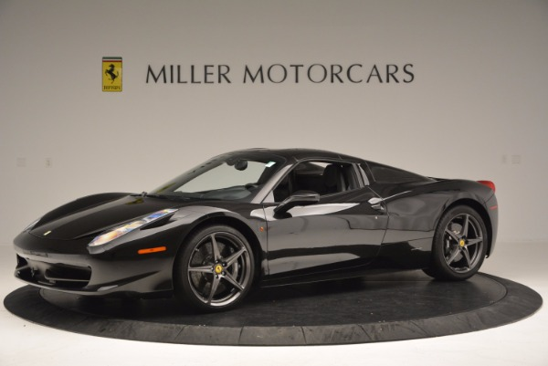 Used 2015 Ferrari 458 Spider for sale Sold at Pagani of Greenwich in Greenwich CT 06830 14