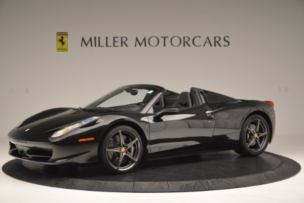 Used 2015 Ferrari 458 Spider for sale Sold at Pagani of Greenwich in Greenwich CT 06830 2