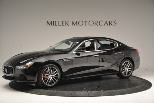 Used 2016 Maserati Ghibli S Q4  EX-LOANER for sale Sold at Pagani of Greenwich in Greenwich CT 06830 2