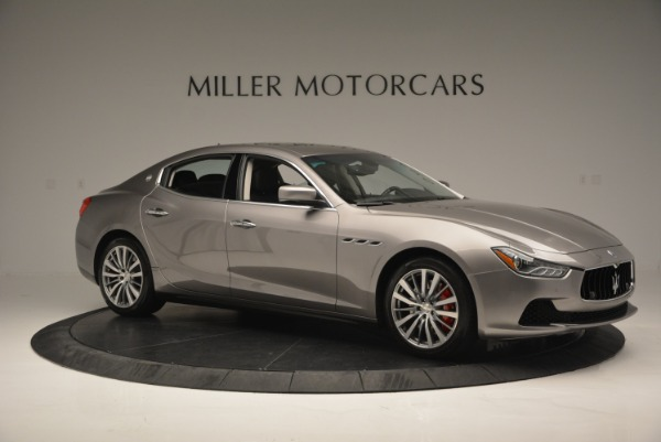 Used 2016 Maserati Ghibli S Q4  EX- LOANER for sale Sold at Pagani of Greenwich in Greenwich CT 06830 10