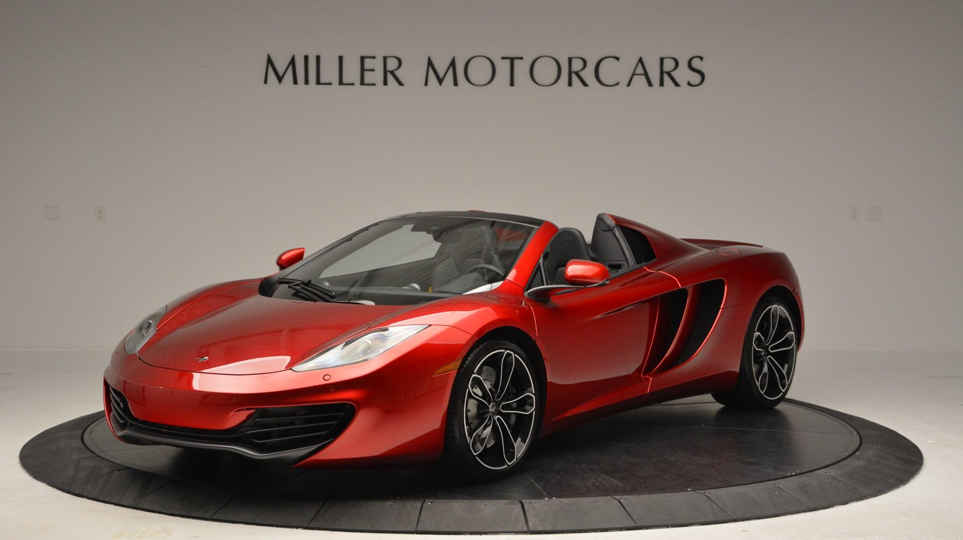 Used 2013 McLaren 12C Spider for sale Sold at Pagani of Greenwich in Greenwich CT 06830 1