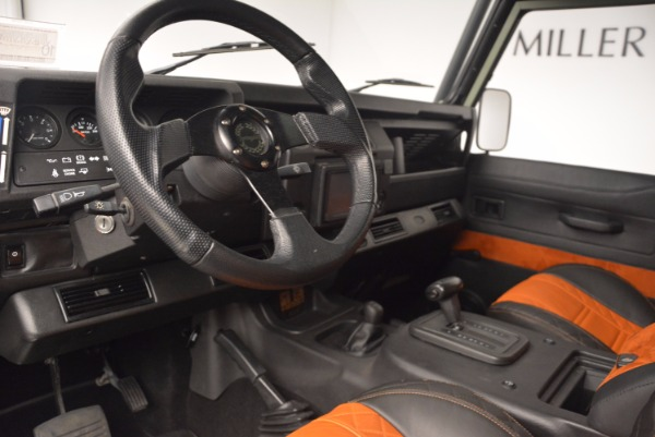 Used 1997 Land Rover Defender 90 for sale Sold at Pagani of Greenwich in Greenwich CT 06830 13