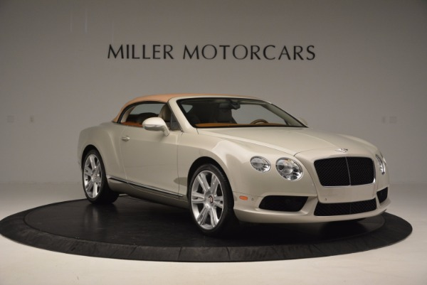 Used 2013 Bentley Continental GTC V8 for sale Sold at Pagani of Greenwich in Greenwich CT 06830 24