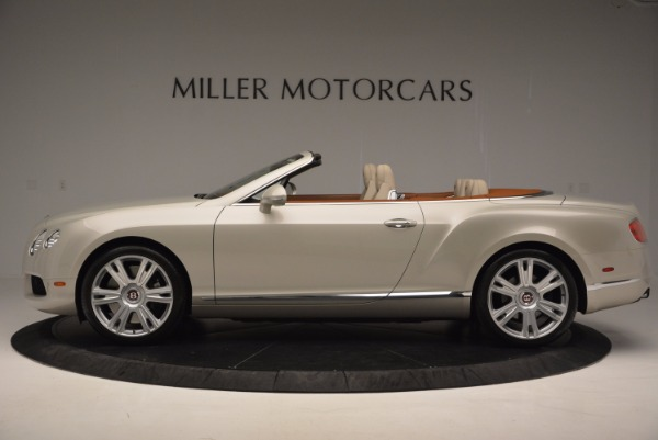 Used 2013 Bentley Continental GTC V8 for sale Sold at Pagani of Greenwich in Greenwich CT 06830 3