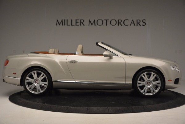 Used 2013 Bentley Continental GTC V8 for sale Sold at Pagani of Greenwich in Greenwich CT 06830 9
