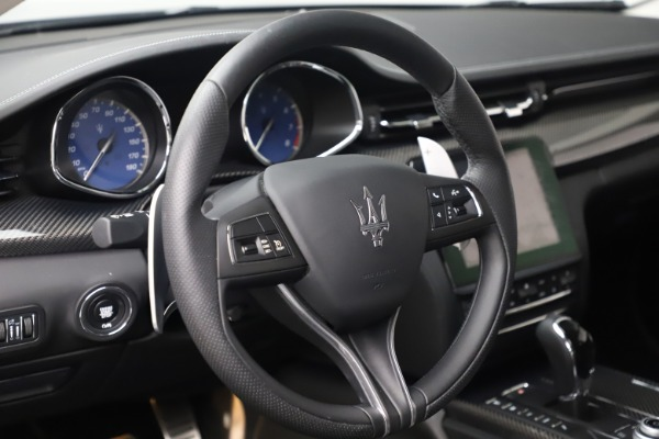 Used 2017 Maserati Quattroporte S Q4 GranSport for sale Sold at Pagani of Greenwich in Greenwich CT 06830 16