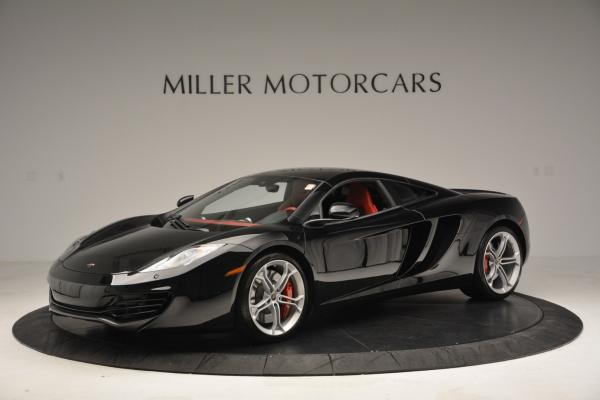 Used 2012 McLaren MP4-12C Coupe for sale Sold at Pagani of Greenwich in Greenwich CT 06830 1