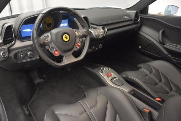Used 2012 Ferrari 458 Italia for sale Sold at Pagani of Greenwich in Greenwich CT 06830 13