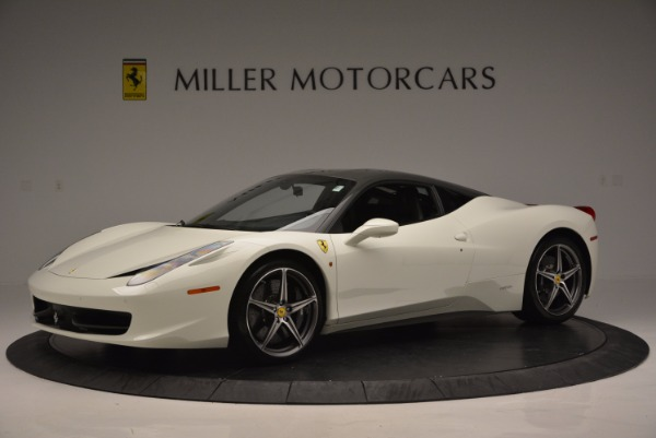 Used 2012 Ferrari 458 Italia for sale Sold at Pagani of Greenwich in Greenwich CT 06830 2