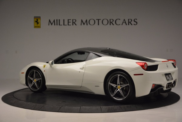 Used 2012 Ferrari 458 Italia for sale Sold at Pagani of Greenwich in Greenwich CT 06830 4