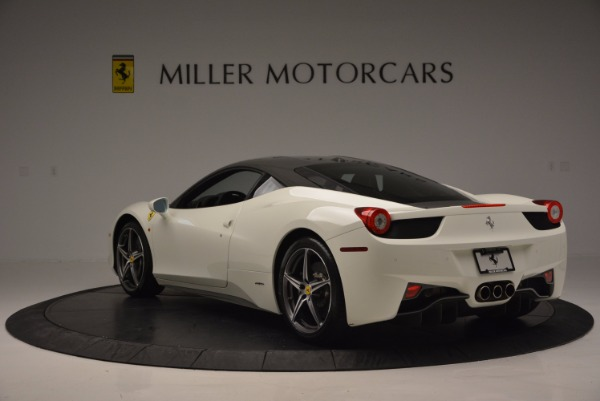 Used 2012 Ferrari 458 Italia for sale Sold at Pagani of Greenwich in Greenwich CT 06830 5