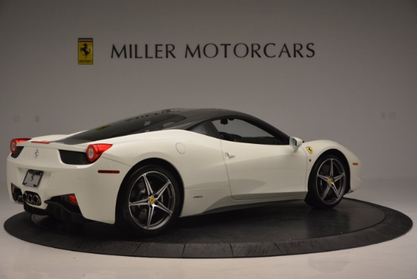 Used 2012 Ferrari 458 Italia for sale Sold at Pagani of Greenwich in Greenwich CT 06830 8