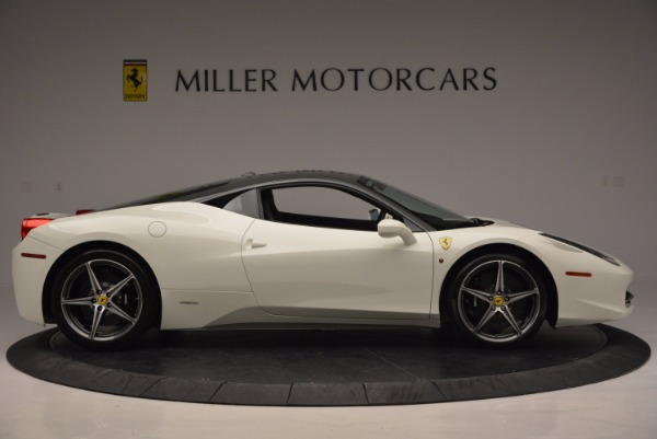 Used 2012 Ferrari 458 Italia for sale Sold at Pagani of Greenwich in Greenwich CT 06830 9