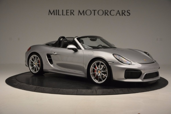 Used 2016 Porsche Boxster Spyder for sale Sold at Pagani of Greenwich in Greenwich CT 06830 10