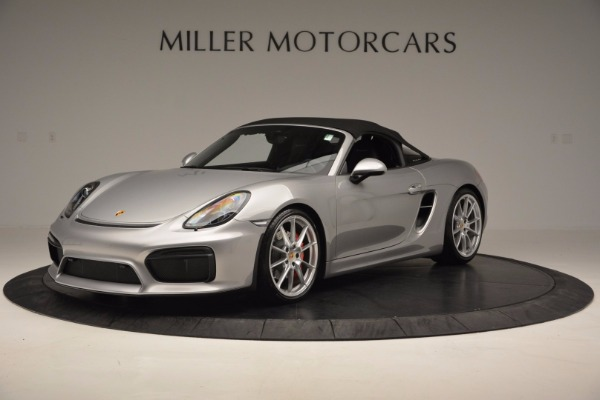 Used 2016 Porsche Boxster Spyder for sale Sold at Pagani of Greenwich in Greenwich CT 06830 13