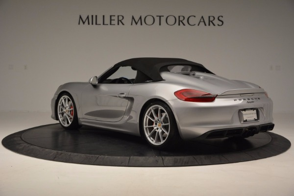 Used 2016 Porsche Boxster Spyder for sale Sold at Pagani of Greenwich in Greenwich CT 06830 15