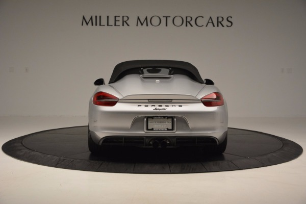 Used 2016 Porsche Boxster Spyder for sale Sold at Pagani of Greenwich in Greenwich CT 06830 16