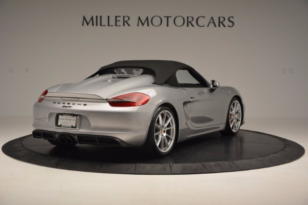 Used 2016 Porsche Boxster Spyder for sale Sold at Pagani of Greenwich in Greenwich CT 06830 17