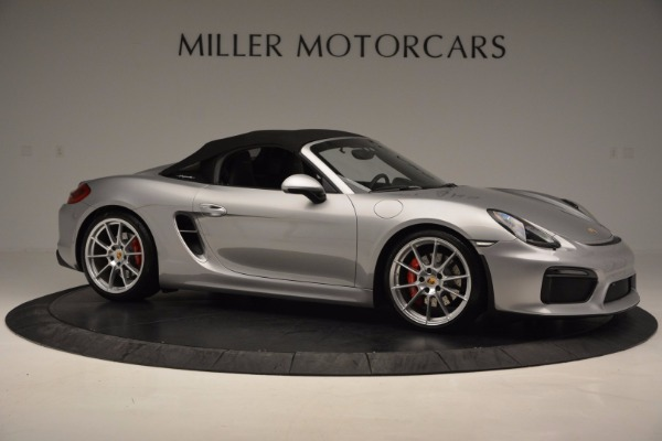 Used 2016 Porsche Boxster Spyder for sale Sold at Pagani of Greenwich in Greenwich CT 06830 19
