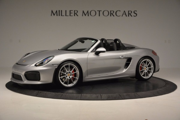 Used 2016 Porsche Boxster Spyder for sale Sold at Pagani of Greenwich in Greenwich CT 06830 2