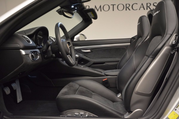 Used 2016 Porsche Boxster Spyder for sale Sold at Pagani of Greenwich in Greenwich CT 06830 21