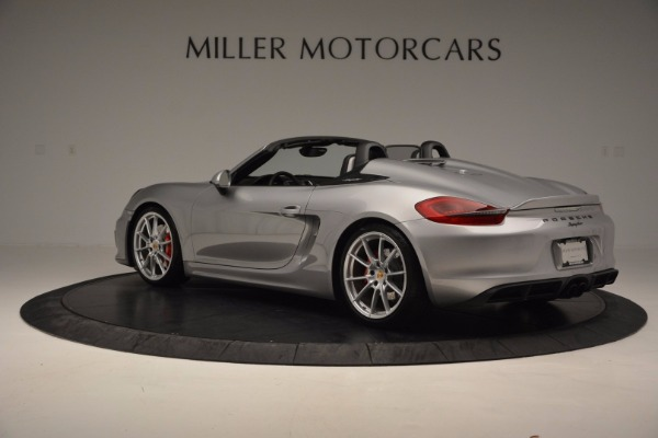 Used 2016 Porsche Boxster Spyder for sale Sold at Pagani of Greenwich in Greenwich CT 06830 4