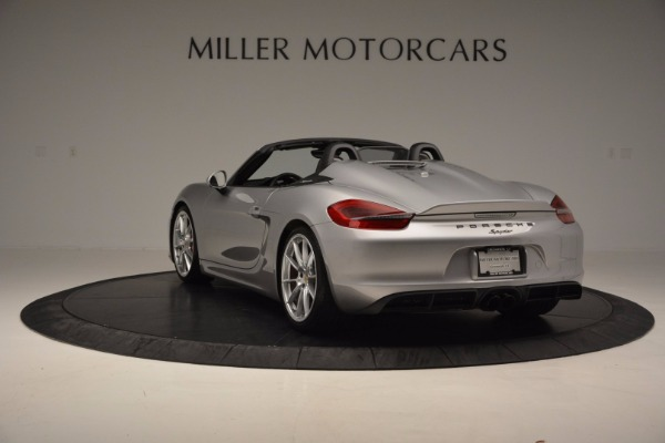 Used 2016 Porsche Boxster Spyder for sale Sold at Pagani of Greenwich in Greenwich CT 06830 5