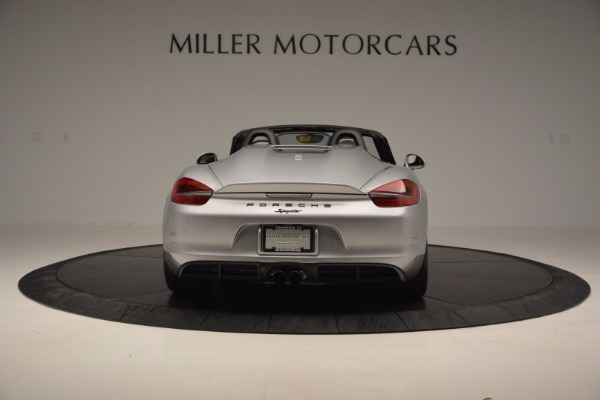 Used 2016 Porsche Boxster Spyder for sale Sold at Pagani of Greenwich in Greenwich CT 06830 6