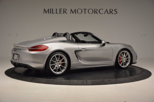 Used 2016 Porsche Boxster Spyder for sale Sold at Pagani of Greenwich in Greenwich CT 06830 8