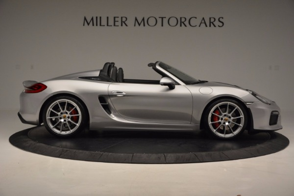 Used 2016 Porsche Boxster Spyder for sale Sold at Pagani of Greenwich in Greenwich CT 06830 9