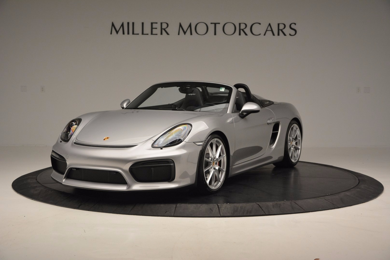 Used 2016 Porsche Boxster Spyder for sale Sold at Pagani of Greenwich in Greenwich CT 06830 1