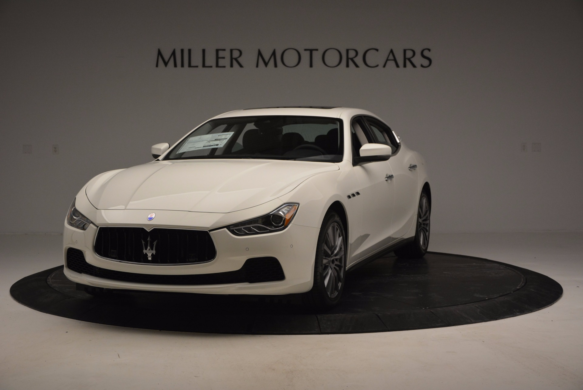 New 2017 Maserati Ghibli SQ4 for sale Sold at Pagani of Greenwich in Greenwich CT 06830 1
