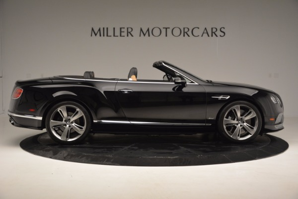 Used 2016 Bentley Continental GT Speed Convertible for sale Sold at Pagani of Greenwich in Greenwich CT 06830 9