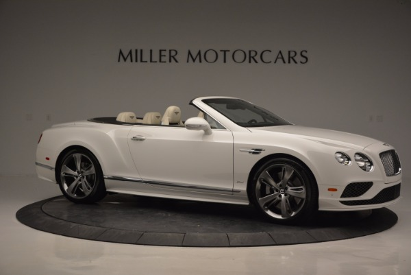 New 2017 Bentley Continental GT Speed Convertible for sale Sold at Pagani of Greenwich in Greenwich CT 06830 10