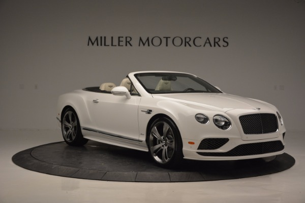 New 2017 Bentley Continental GT Speed Convertible for sale Sold at Pagani of Greenwich in Greenwich CT 06830 11